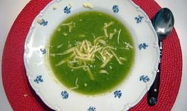 Brokolicová polévka s tymianem