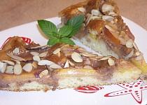 Broskvový koláč s polevou