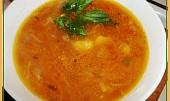 Celerovo-mrkvová polévka se šťouchanými bramborami