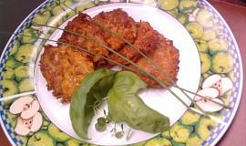 Cuketové placičky s mrkví a vločkami