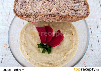 Hummus z instatní cizrnové mouky