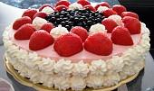 Jahodový lahodný dortík