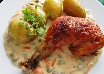 Kuře po Vracovsku