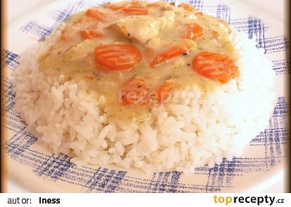 Kuřecí na zelenině s bazalkou
