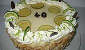 Limetový dort