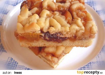 Linecký ovocný koláč