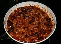 Mexické fazole z Blavy