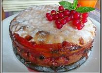 Ovocný koláč na ruský způsob