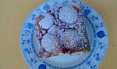 Ovocný osvěžující koláč s tvarohem
