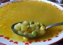 Polévka s kukuřicí