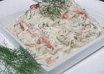 Rybí salát v koprové remuládě