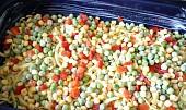 Těstovinový koláč se zeleninou