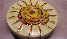 Tvarohový dort s nektarinkami