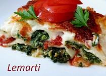 Zapečené cannelloni se špenátem