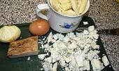 Zapečené těstoviny s nivou a zeleninou v mikrovlnce
