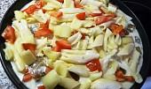 Zapečené těstoviny s nivou a zeleninou v mikrovlnce - CRISP