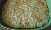 Zapečený květák se sýrem a mrkví