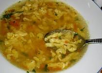 Zavářka do polévky -   žížalky vnučky Verunky