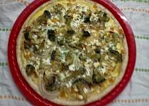 Brokolicový koláč (s kuřecím masem)