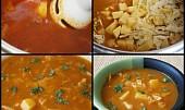 Chlebová zelná polévka