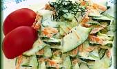 Cuketový salát s mrkví