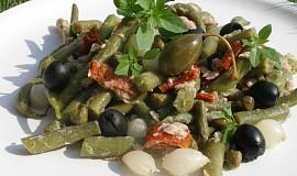 Fazolkový salát Maltézských rytířů