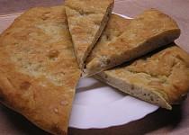 Focaccia podle Emanuele Ridi (Italský chléb)