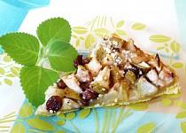 Hruškovo-jablkový koláč