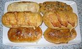 Kefírové anglické bagety