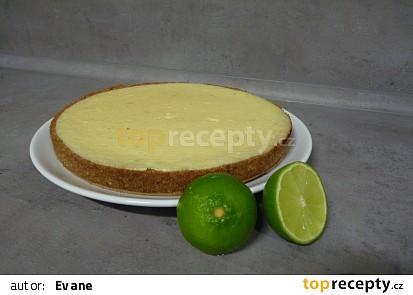 Key lime pie - limetkový koláč