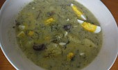Polévka koprová - kulajda