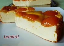 Meruňkový tvarohový koláč
