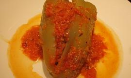 Odlehčené plněné papriky