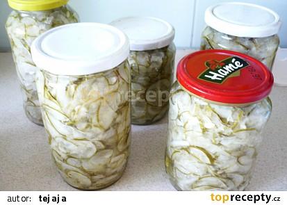 Okurkový salát s Vegetou
