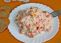 Rajčatový salát s mléčnou majonézou