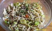Salát z čerstvých kozích rohů