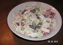 Salát z čínského zelí s křenem a fazolemi
