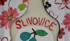 Slivovice dort