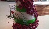 Svatební dort s kalama