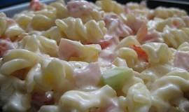 Těstovinový salat na lehko
