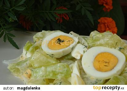 Tykvový salát s vejci