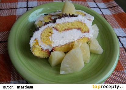 Ananasová roládka