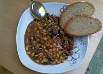 Chilli con Carne z drůbežích jater