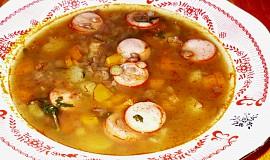 Čočková polévka od maminky