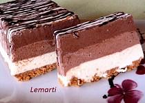 Čokoládovo - tvarohový hřbet Trio