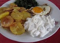 Domácí chipsy s tvarohem
