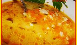 """""""Fofr""""  cibulovo-mrkvová polévka"""