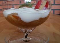 Horká jablíčka s jogurtem