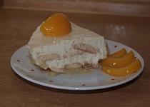 Jablkový dort s  tvarohem - nepečený