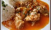 Kuřecí maso s dýní hokkaido